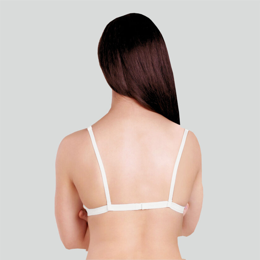 Basics Double Layered Non Wired Full Coverage Backless Bra