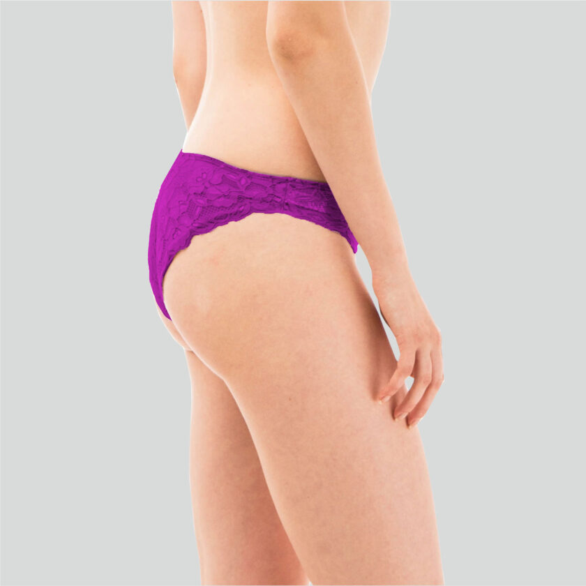 Lacy Low Rise Hipster Panty (Pack of 3)